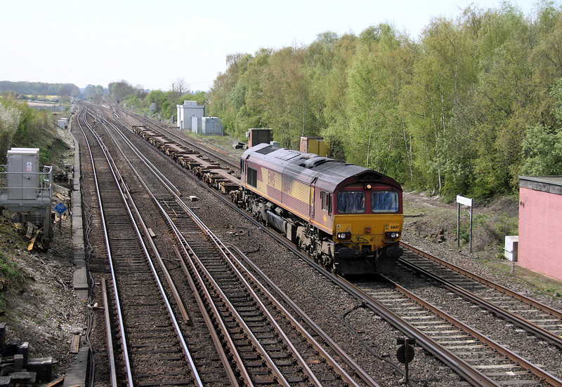 66147 Worting Junction 17/04/14 6V39 Ludgershall to Didcot