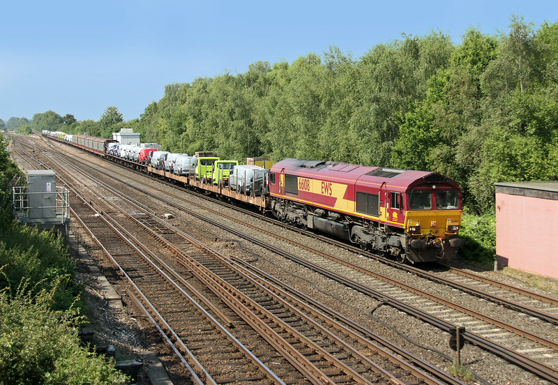66108 Worting Junction 24/07/14 6M66 Southampton Western Docks to Garston
