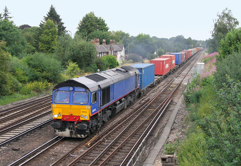 66414 Worting Junction 28/07/14 4O48 Hams Hall to Southampton