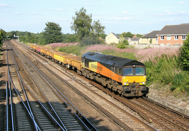 66847 Worting Junction 29/07/14 6Y42 Hoo Junction to Eastleigh