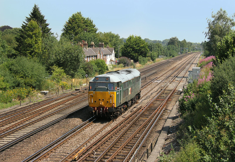 31601 Worting Junction 24/07/14 0Z31 Washwood Heath to Eastleigh