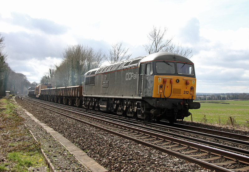 56312 Micheldever 07/03/14 6Z56 Totton to Chaddesden