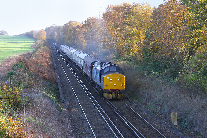 37261 Hedge End 30/11/13 1Z42 Whitchurch to Eastleigh