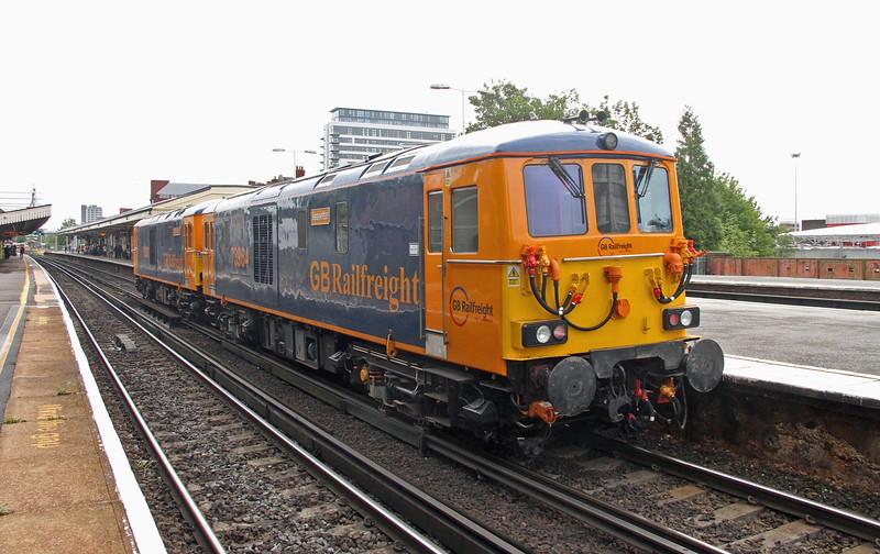 76964 Basingstoke 27/08/15 0Y62 Eastleigh to Tonbridge