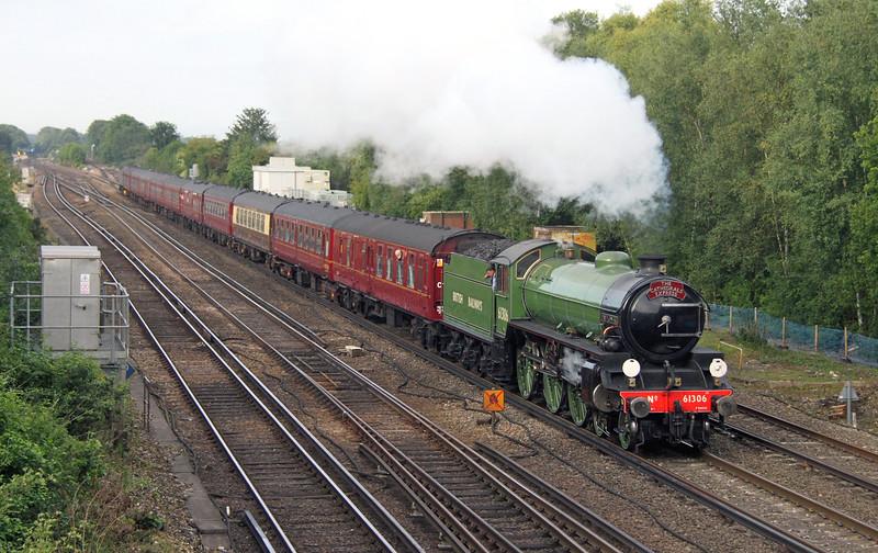 61306 Worting Junction 29/08/15 1Z34 Salisbury to Canterbury