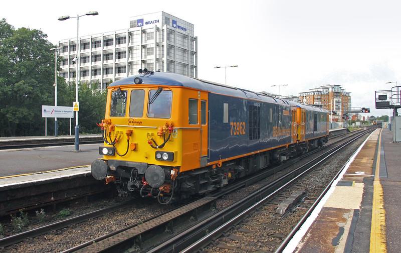 76962 Basingstoke 27/08/15 0Y62 Eastleigh to Tonbridge