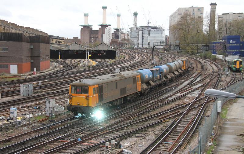 73109 London Victoria 28/11/15 3W90 Horsham to Horsham