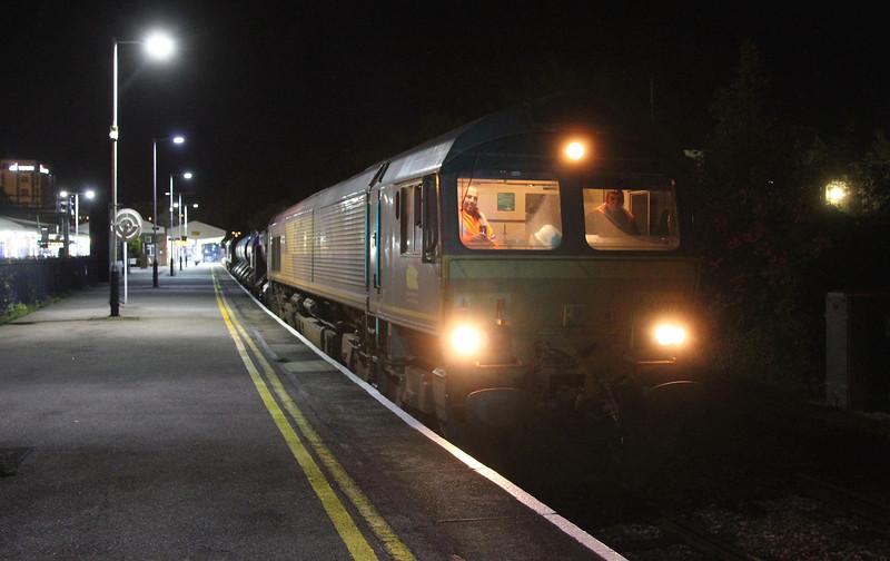 66075 Basingstoke 08/10/15 3J42 Didcot to Didcot